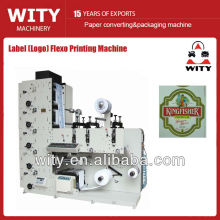 Narrow Web Label Flexo Printing Machine