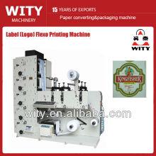 Máquina de impressão Flexo da etiqueta da correia fotorreceptora estreita