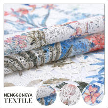 New arrival wholesale comfortable printed embroidery african french lace fabric