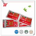 Fábrica orgánica al por mayor de la pasta de tomate de la bolsita con buen precio