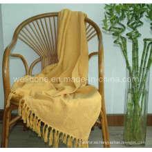 Tiro de bambú, manta de bambú, fibra de bambú de lanzar Bb-09123