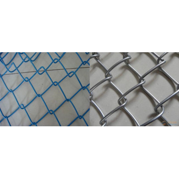 Pvc Coated Chain Link Fence for Constructions
