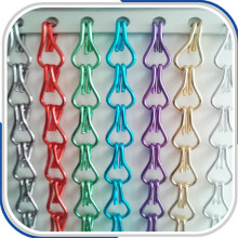 Aluminum Alloy Chain Link Metallic curtain