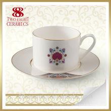 Kreative keramische türkische Großhandelskaffeetasse, Cup mit Untertasse