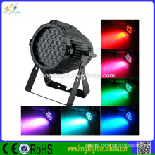 china supplier 36x3W 3in1 RGB LED par 64 dj lights stage