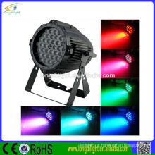 Fornecedor de China 36x3W 3in1 RGB LED par 64 dj lights stage
