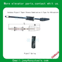 elevator pigtail taper sleeve combination /elevator Autobus pigtail taper sleeve combination A Type for Mitsubishi Pigtail Sprin