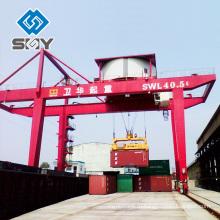 система контейнера поднимаясь, механическая Козловой кран на рельсы
