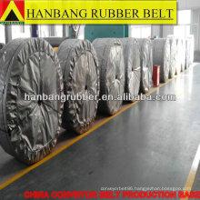 Rubber chevron conveyor belt EP315/4PLY4+2