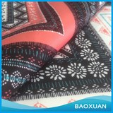 96 Polyester 4 spandex scuba fabric printed knitted for garment