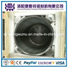 Suministro de alta calidad tungsteno puro crisol/tungsteno crisol para fusión