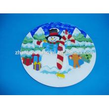 Фарфоровая тарелка сувенира / именная табличка / именные таблички для детей