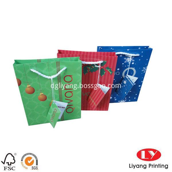 paper bag with handle