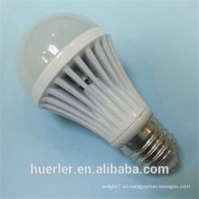 Hot sale5730 SMD aluminio 5w 7w 9w 12w b22 e27 soportes de la lámpara de mesa