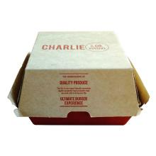 상자 햄버거 상자를 가져 가십시오 빵집 상자