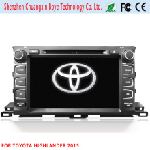 2DIN Car DVD/MP4 Player for Toyota Highlander 2015