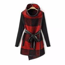 OEM Clothing 2015 European Style Winter Women Woolen Coat