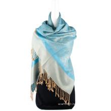 Meilleures ventes Paisley pattern Jaquard Stole Long Hijab Wrap Femme Spring Scarf