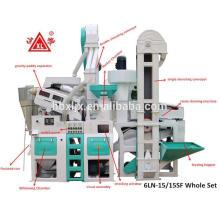 24 Tonnen pro Tag Hausgebrauch automatische Reismühle Maschinen