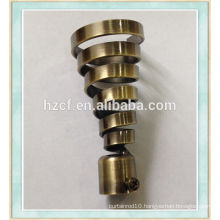 D19380 top sell modern European style curtain rod finials