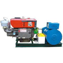 15kw One Cylinder Open Type Diesel Generator