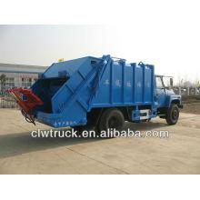 Dongfeng 4x2 caminhão de lixo, caminhão compactador de lixo (8m3)