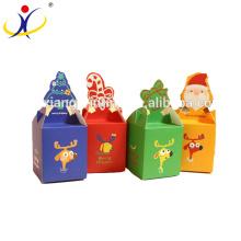 Новый дизайн Яблоко сладкий упаковочной коробки с открытым окном на канун Рождества