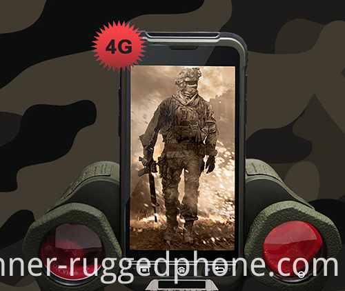 Stylish Rugged mobile Phone IP68