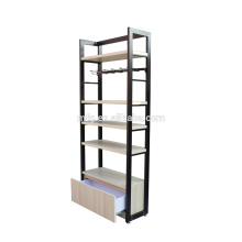 Kundenspezifische Licht Duty Holz Haushalt / Supermarkt Display Racks