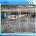 Rede de arame frisada de aço inoxidável da estrutura forte