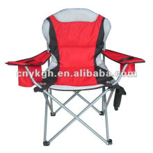 Foldable beach chair The armrest with cooler bag