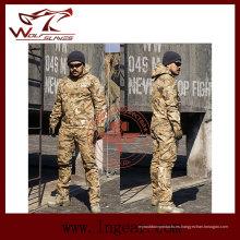 Venta caliente Lurker raya camuflaje táctico traje uniforme del combate