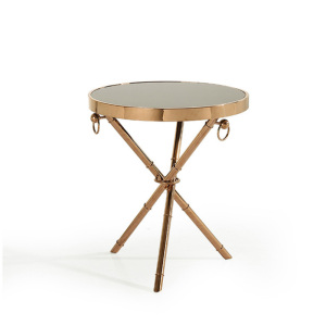 European-style simple fashion marble top side table