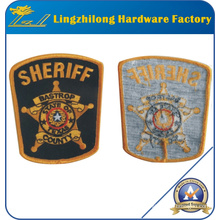 Custom Design Iron-on Back Embroidery Badge Patch