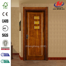 Carved Plastic Wood Panel Pattern Interior Door