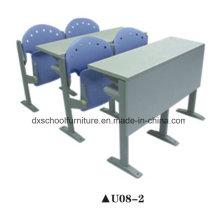 Mesa de estudante de alta qualidade e cadeira para sala de aula de passo