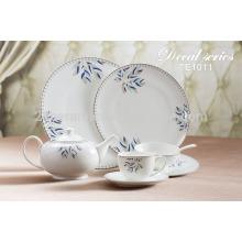 Chine nouveau produit innovant vaisselle en porcelaine royale pour la famille