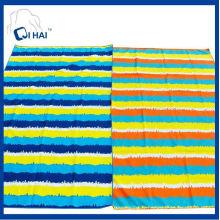Serviette de plage en suède de microfibre rapide sèche (QHAC5561)
