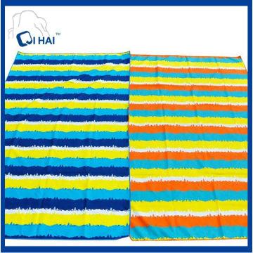 Toalha de praia de microfibra de secagem rápida de esportes (qhac5561)