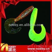 Fabricante japan sickle tail suave cebo señuelo de la pesca