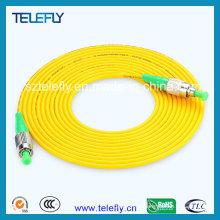 Cabo de fibra ótica FC / APC, cabo de fibra óptica FC-FC