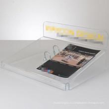 Акриловая подставка для дисплея / акриловый держатель для информации / акриловая стойка дисплея (AD-0801-T)