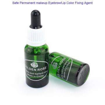 Agente de fijación de cejas y labios de maquillaje permanente seguro para uso profesional