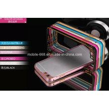 Алюминиевый бампер Чехол для iPhone 6 плюс с камерой металлической крышкой