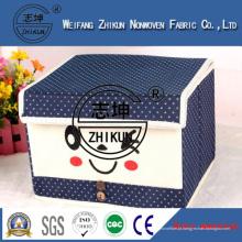Eco-Friendly PP Spunbond tecido não tecido para caixa de armazenamento