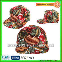 Flor snapback sombreros de encargo SN-2251