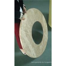 Runde geformte Stein-Waben-Verbundplatten Gor Waschraum