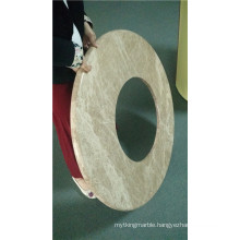 Round Shaped Stone Honeycomb Composite Panels Gor Washroom