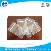 Hersteller Custom Zipper Transparente Plastiktüte