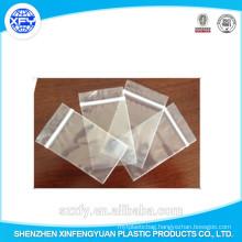 Manufacturer Custom Zipper Transparent Plastic Bag